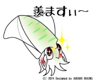アオリイカ-羨ますぃ~