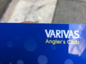 VARIVASファンクラブ会員カード