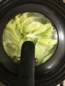 ニジマスの野菜蒸し10